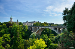 Luxembourg - the Pont Adolphe