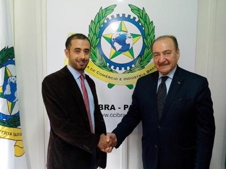 Mahmoud Saab, Diretor Operacional da CCIBRA e sócio da GMH do Brasil com Nadhmi Auchi