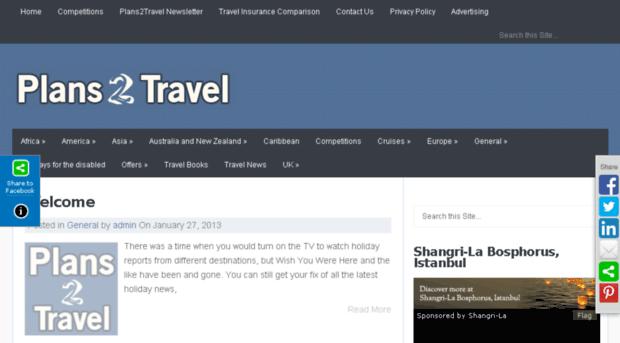 plans2travel.co.uk