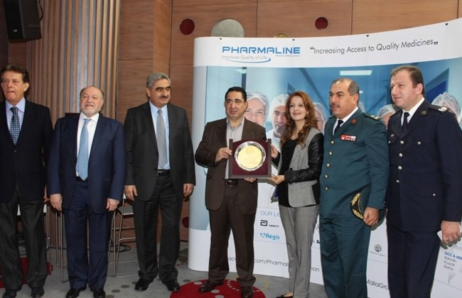 Minister Hussein Hajj Hasan attends a conference in Dbayeh