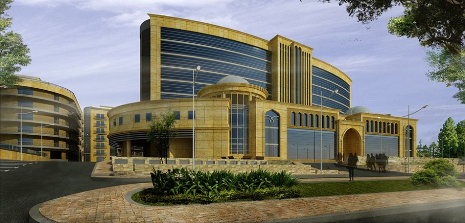 The new Ibn Hayyan hospital in Baghdad (Iraq) (Photo courtesy of General Mediterranean Holding).